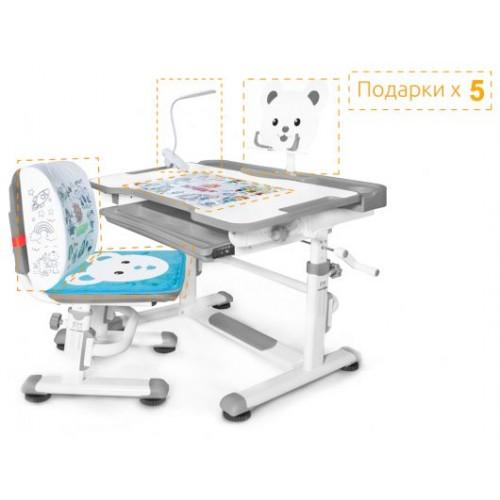 Детский Комплект парта и стульчик Mealux BD-04 New XL Teddy
