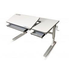 Детский стол Mealux Sherwood XL-lite (с двумя пластиковыми ящиками)