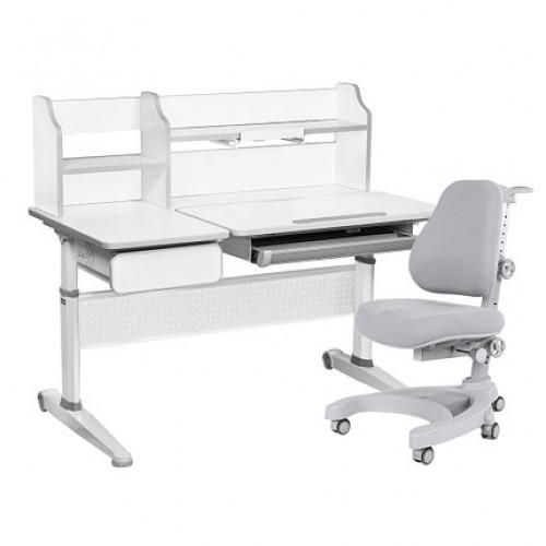 Парта-трансформер abelia grey cubby + кресло magnolia grey cubby + чехол!
