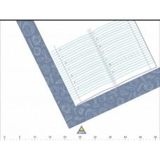 Подложка для письма со схемой правильного положения рабочей тетради