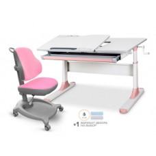 Детский комплект стол Mealux Vancouver Multicolor+ кресло ErgoKids Y-402