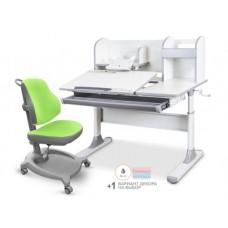 Комплект стол Mealux Vancouver Multicolor+ кресло ErgoKids Y-402 с надстройкой